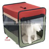 Light Weight Soft Portable Dog Crate/Foldable Pet Carrier/Indoor Outdoor Pet Home                                                                         Quality Choice