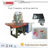 Double head high frequency plastic welding/sealing/embossing/packaging machine HX-5000T-A