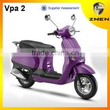 ZNEN Motor Vpa 2 retro gas scooter 50cc scooter 125cc 150cc with EEC EPA DOT