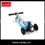 2016 Rastar wholesale new kid toy 3 wheel flash scooter