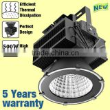100 w - 600 w 90-305vac IP65 Meanwell driver, Cree / OSRAM leds outdoor led project light flood with CE ROHS 5 years warranty
