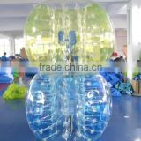 best selling human inflatable bumper bubble ball/inflatable balls funny balls/big discount bumper ball