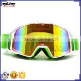 BJ-MG-021A Wholesale Custom Adult Transparent Helmet Skiing Snow Goggles Snowboard Glasses