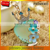 High Quality Car Bag Charm Rhinestone Crystal Key Holder Creative Perfume Bottle Key Chain