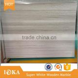 White Wooden Marble,Beige Marble with Grey Veins
