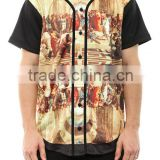 Hot Sale Sublimated Fashion Baseball Jersey