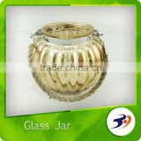Wholesale Glass Jars Clear Hobnail Candleholder