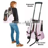 Pink Pet Luggage Dog Carrier Backpack