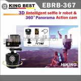 KING BEST WiFi Action Sports Camera 4k underwater action camera action camera and Pan Kit
