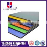 Alucoworld aluminum composite board protective outdoor sign board acp panels for curtain wall cladding