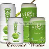 CANNED COCONUT WATER WITH PULP
