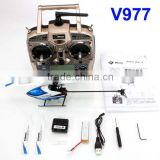 6CH wl v977 Newest 3D to 6Gyro model shuffle 6CH 2.4G RC Helicopter Power Star X1 Brushless Flybarless RC Helicopter toys