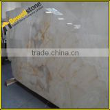 Luxury semiprecious stone slabs onyx slabs for feature walls