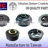 JMBZ-CP003A Harmonic Balancer Vibration Damper Crankshaft Pulley for Mercedes Benz M111 1110300203 1110300303