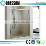 Modern design sliding door glass shower wall panel shower door                                                                         Quality Choice