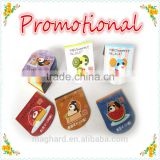 Alibaba china factory OEM Chiristmas craft paper folding Magnetic custom Bookmarks clips