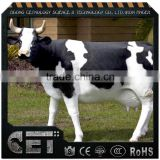 Hot sale fiberglass life size cow statue for sale