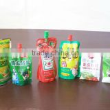 mango jam and ketchup in doypack with cap pouch filling sealing capping factory machines