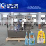 New condition and automatic pouch filling and capping machine