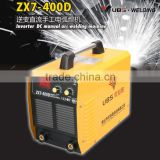 Hot sales 380V dual IGBT dc Inverter welding machines industrial welder arc welding welder ZX7-400D