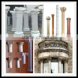 Big Size Interior And Outside Decorative Gypsum Plaster Concrete Cement GRC Roman Pillars Column