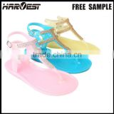 Wholesale cheap plastic jelly shoe woman for sale , woman jelly sandal                                                                         Quality Choice