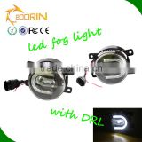 Auto accessories wholesale price h11 led fog lamp drl 3.5 inch white led daylight fog lamp 1800lm angle eye fog light bulb