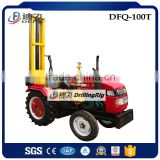 Tractor Mounted 100m Dfq-100t DTH Hammer Portable Used Borehole Well Drilling Machine for Water