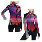 (Trade Assurance)2016 hot sale Custom printed Coaches jackets for women