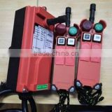 1transmitter+2 receivers tower crane remote control Industrial wireless remote control hydraulic