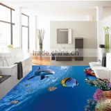 Home, office and showroom flooring 3D Floor Sticker and design                                                                         Quality Choice