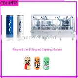 Colunte Ring pull Can filling and sealing machine, zip top Can filling Beer, Soda canning equipment                                                                         Quality Choice
