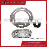 38-55 Teeth High Quality Alloy 7075 T6 Aluminum Motorcycle Chain And Sprocket Set For KINGMOTO