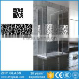 Best Price Tempered Glass Shower Glass Rubber Seal