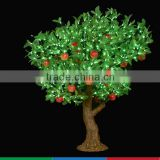 Outdoor artificial apple led tree light