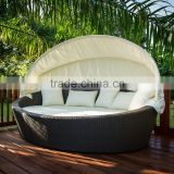 Outdoor Beach Swimming Pool outdoor lounge chair with canopy
