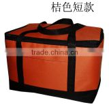 folding cooler bag for frozen food Large meal package lunch cold bag ice pack cooler bag 600D material