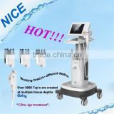 2016 hot selling Newest tech Face wrinkle removal hifu wrinkle removal/hifu 2015/hifu doublo hironic co(ce/manufacture)