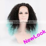 afro kinky curly lace front wig black men lace front wigs
