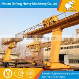 Lift Equipment Workshop Warehouse Widely used 30 ton Mobile Gantry ,Span 10m~35m Mobile Workshop Gantry Crane