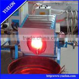 Lead induction melting furnace