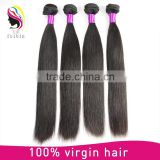 high quality free tangle sample wholesale aliexpress hair bundle virgin remy human hair weaving