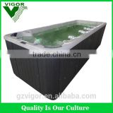 swimming pool price garden outdoor fiberglass spa massage jet inground swimming pool