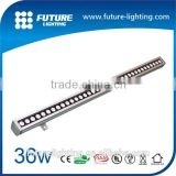 Outdoor stage lighting , exhibition strip light , high power 600x62x63mm RGB Color changing 18W LED Wall Washer Light