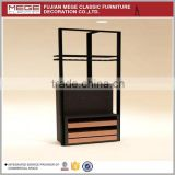Retail store clothes furniture display shelves