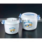 Hot Sale High Quality Microwave Use Plastic rice cooker container with custom printing