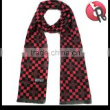 high quality mens warm winter wool fashion long scarves for business or Casual pattern various colors