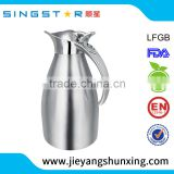 SXPN012 Popular stainless steel kettle 1.0L 1.5L 2.0L