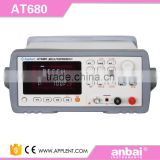 AT680 Digital Meter for Capacitor Leakage Current with Measurement Range 1nA~20mA 1kohm~325Gohm