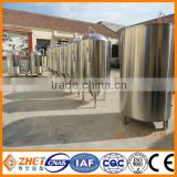 1000l electricity/steam/LPG/gas/direct fire heating beer brewing equipment/brew kettle for sale CE OEM factory